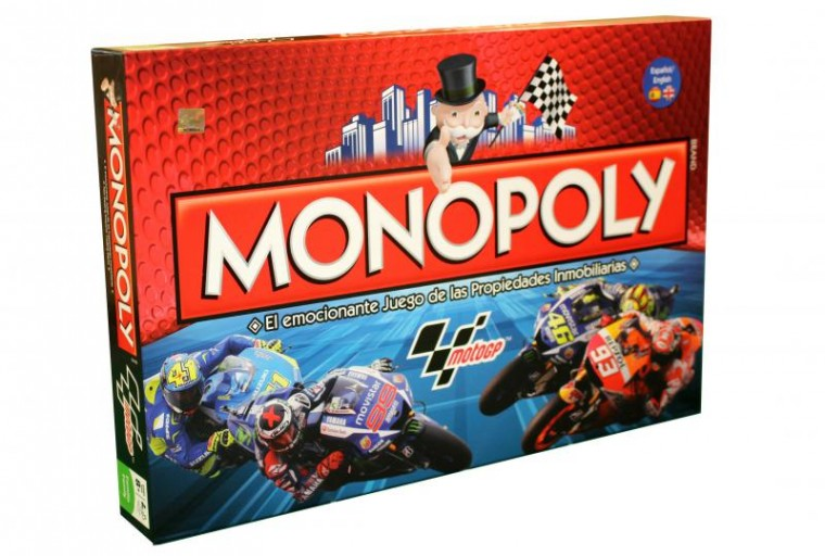 Moto GP Edition Monopoly board game