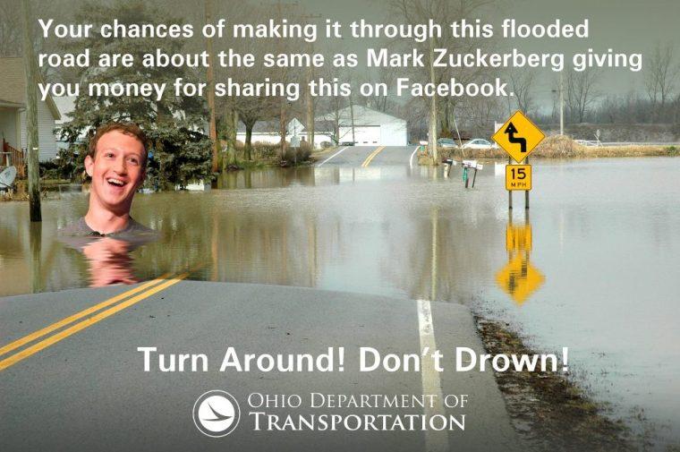 ODOT Facebook Prank