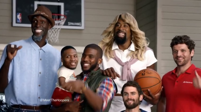 Chris Paul and other NBA players have made another comedic commercial for State Farm