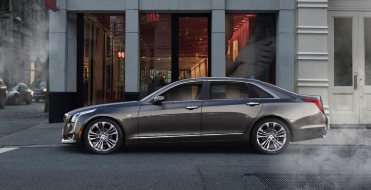 The 2016 Cadillac CT6 comes standard with 18-inch multi-spoke aluminum wheels with Blade Silver painted finish