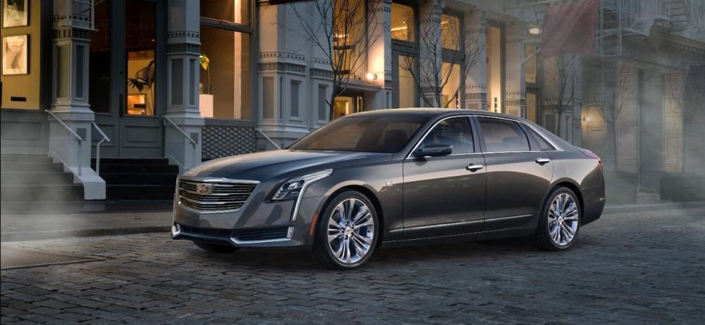 The 2016 Cadillac CT6 will be the company's new flagship sedan