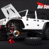 Toy Jeep Wrangler with Jack