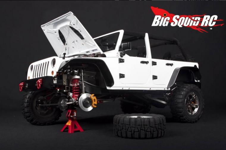 Toy Jeep Wrangler with Jack