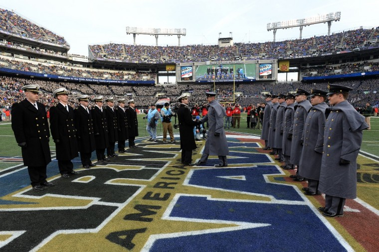 Chevrolet sponsors Army-Navy game for sixth straight year