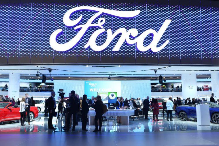 Ford's NAIAS Display