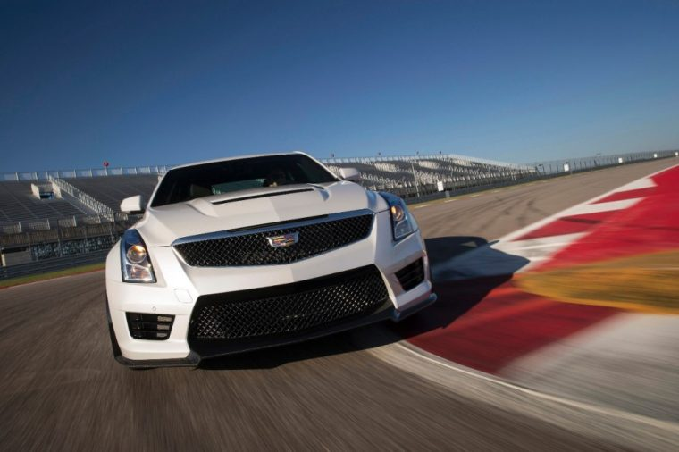 The 2016 Cadillac ATS-V has been nominated for Motor Authority's Best Car to Buy award