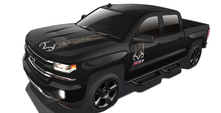 2016 Chevrolet Silverado Realtree Edition