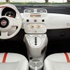 Interior of the 2016 Fiat 500e