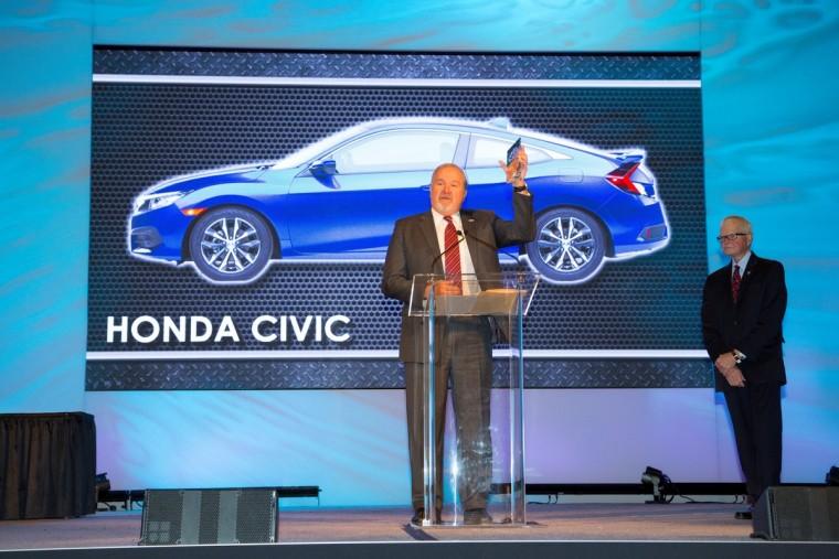 2016 Honda Civic Wins North American Car Of The Year Award