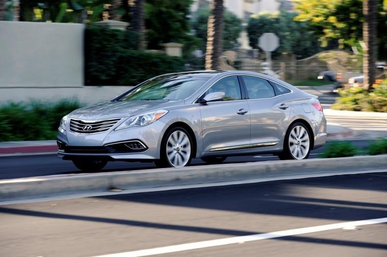 2016 Hyundai Azera model overview