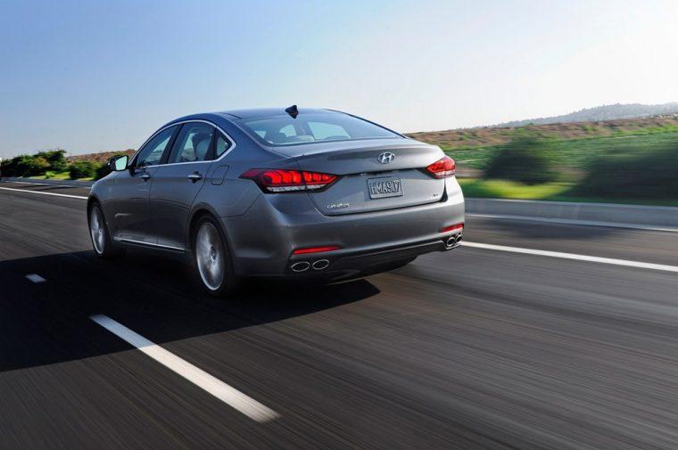 2016 Hyundai Genesis overview rear