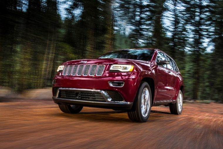2016 Jeep Grand Cherokee Front End