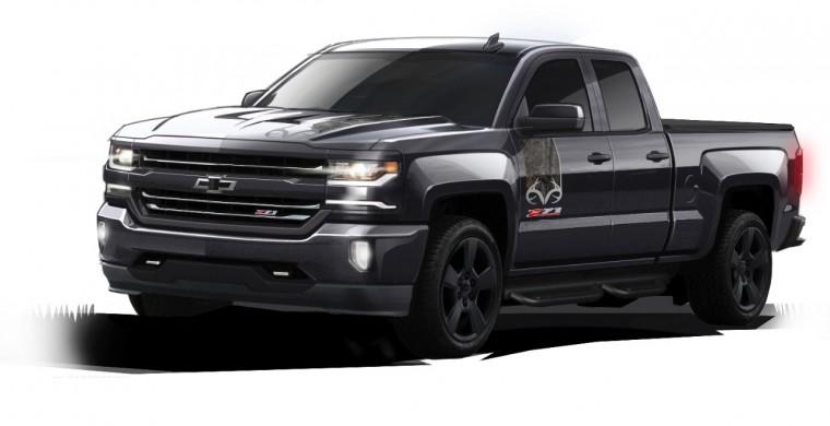2016 Chevrolet Silverado Realtree Edition