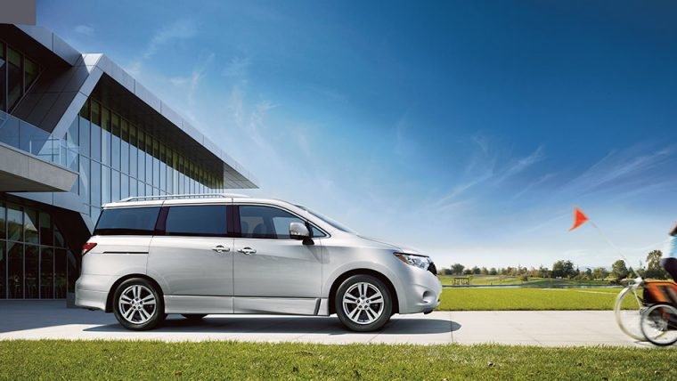 The 2016 Nissan Quest comes standard with 16-inch wheels