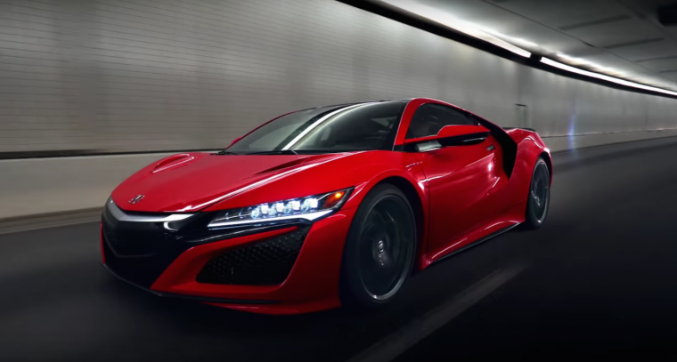 2017 Acura NSX in new Point of View Acura brand commercial