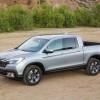 The new 2017 Honda Ridgeline pickup truck