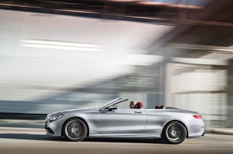 The special edition Mercedes-AMG S63 4MATIC Cabriolet was showcased today at the North American International Auto Show
