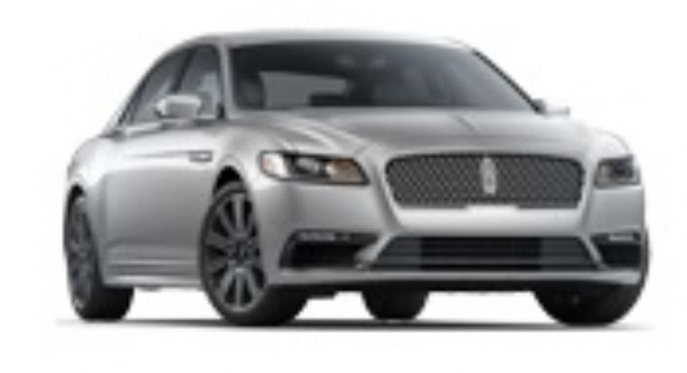 Blurry Lincoln Continental