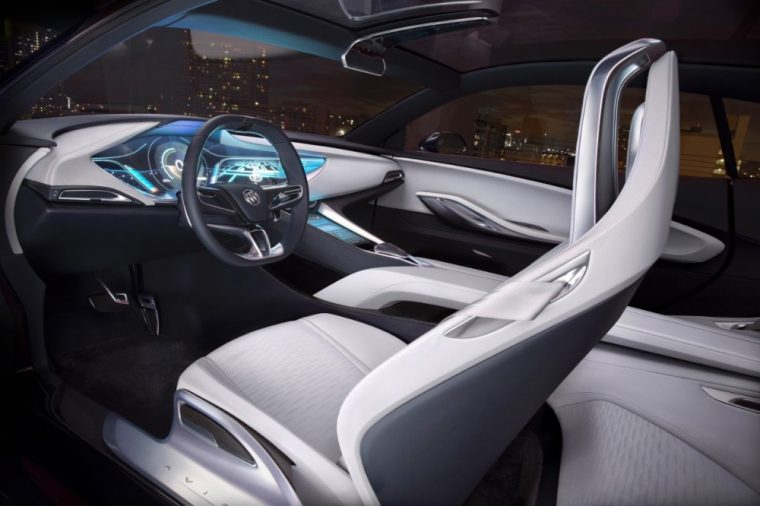"The Buick Avista Concept has recently been given Detroit News' Reader's Choice award for ""Best Future Concept"""