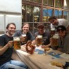 The german band Chemistry Class at a Hofbrauhaus