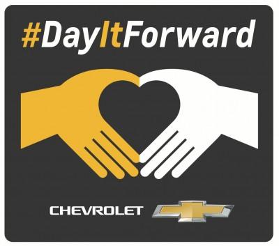 Chevrolet #DayItForward logo