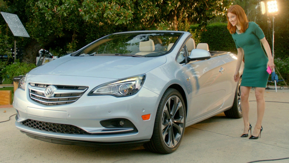 funny new buick commercial combines cascada convertible