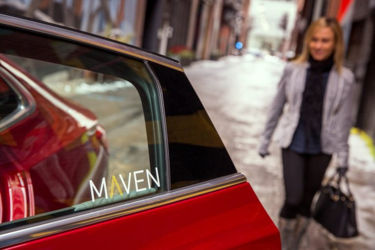 GM launches Maven car-sharing program