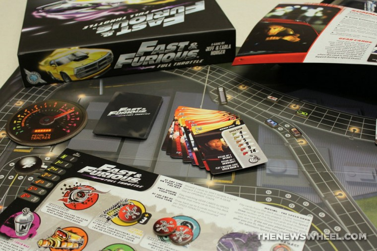 Game Salute Fast & Furious Full Throttle Street Racing Board Game Review