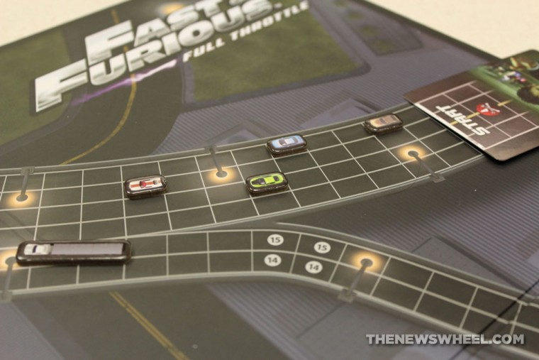 Game Salute Fast & Furious Full Throttle Street Racing Board Game Review gameplay