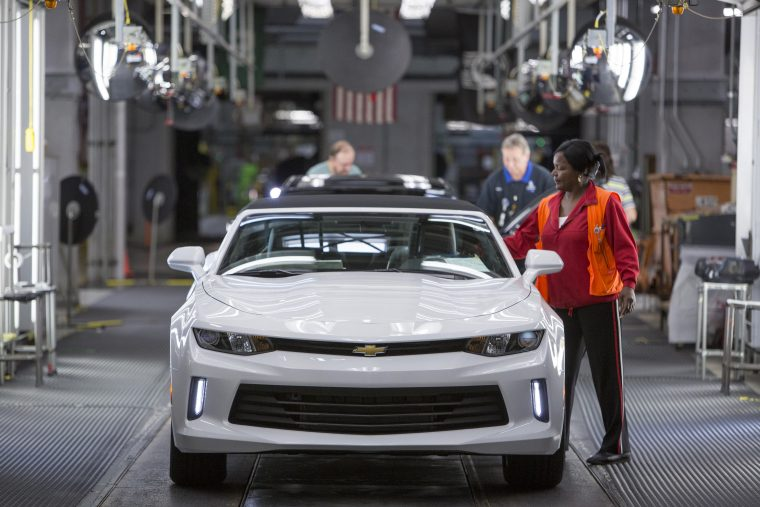 Where Will Gm Continue To Build Passenger Cars In The Us The