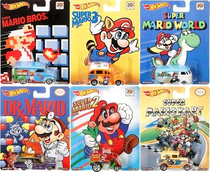 Mattel Super Mario Hot Wheels Collection
