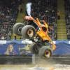 Monster Jam Show in Dayton El Toro Loco truck jump