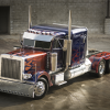 The truck used to play Optimus Prime in the new Transformers movies will be auctioned away this month