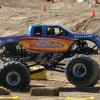 Original Bigfoot Monster Truck car crushing