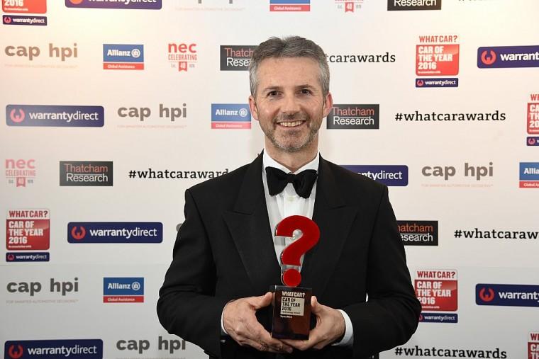 Paul Van der Burgh toyota mirai what car? technology award