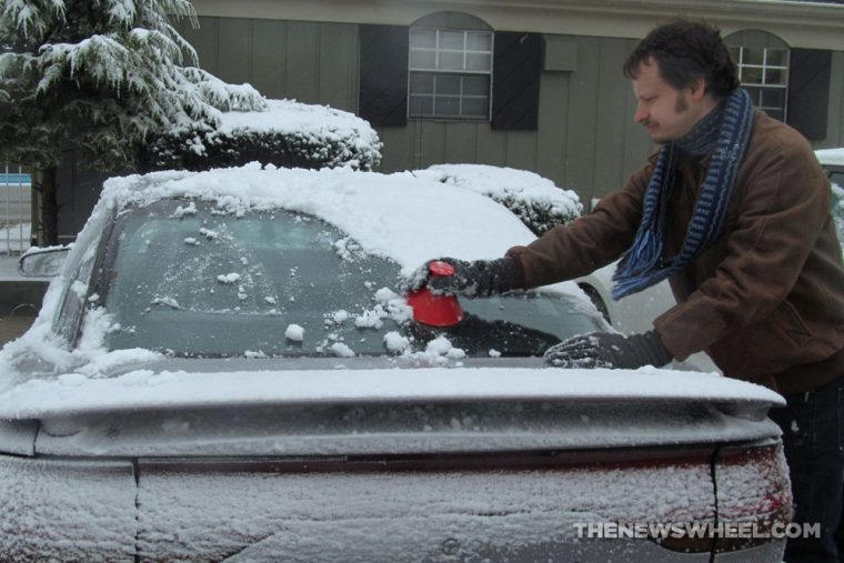 Scrape-A-Round Ice Snow-Scraper Review test