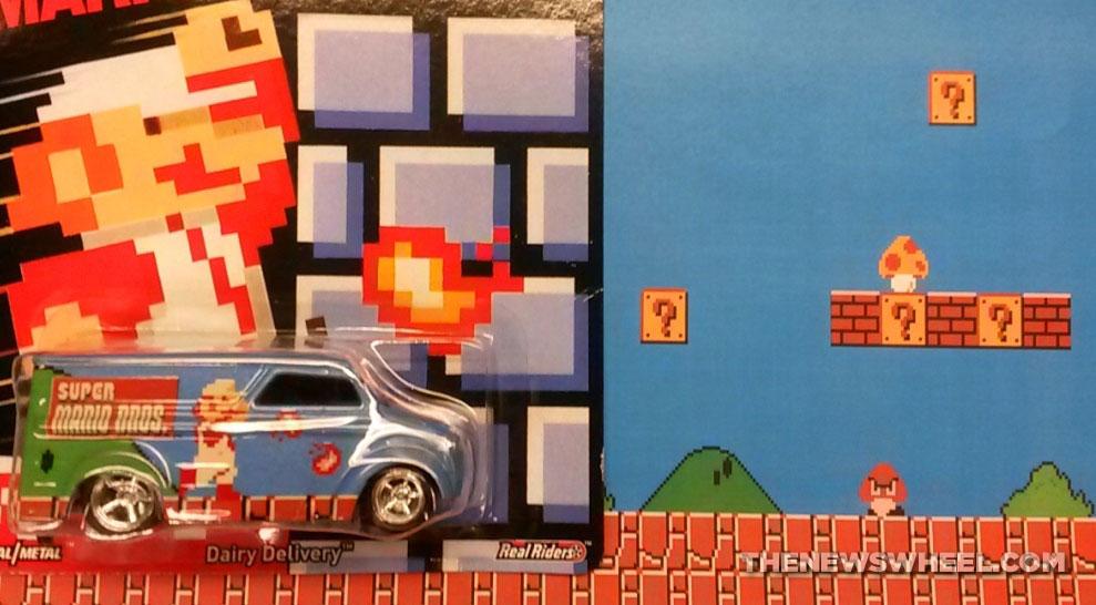 Super Mario Bros Hot Wheels car series