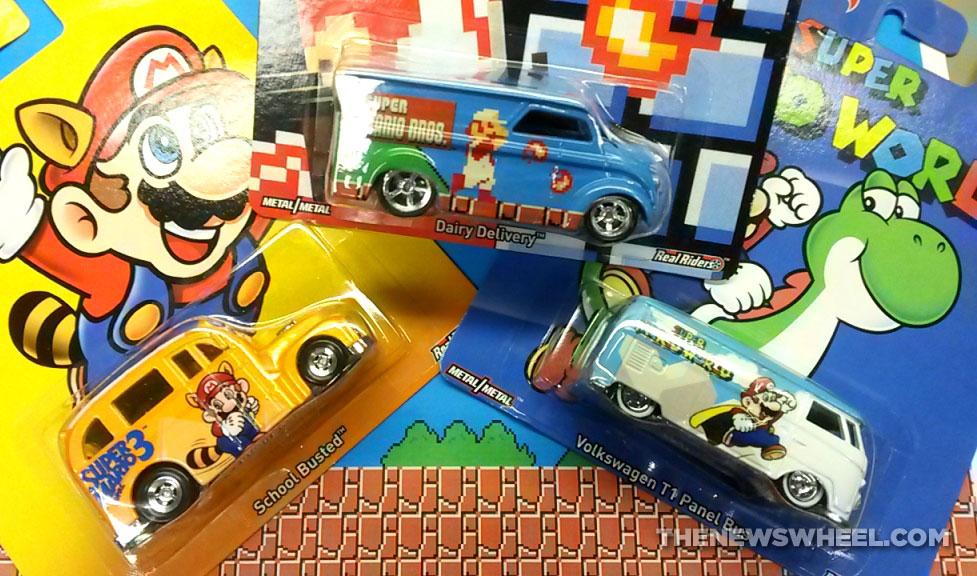 Super Mario Bros World Hot Wheels car series