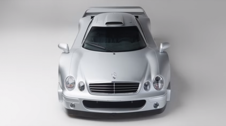 This  2000 Mercedes CLK CTR AMG will be getting  a new owner after February's  Bonhams' Grand Palais Retromobile Auction