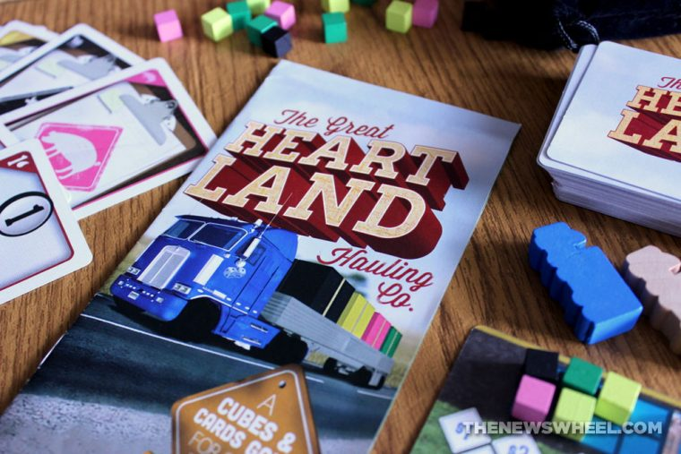 The Great Heartland Hauling Co. Trucking Board Game review