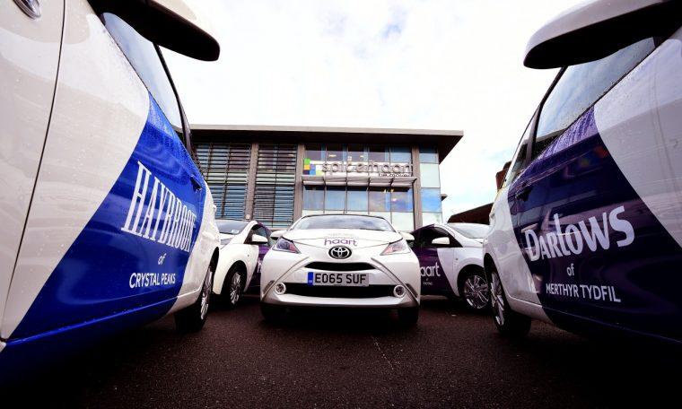 Toyota Aygo fleet cars Spicerhaart