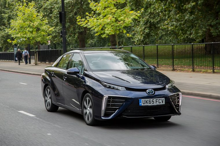toyota mirai what car? technology award