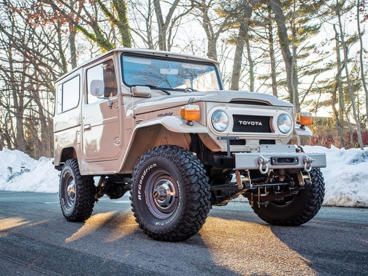 1978 toyota fj40 land cruiser auction