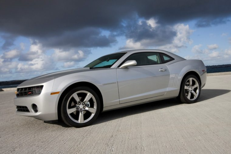 The 2013 Chevrolet Camaro LT, which finished first in its segment in the 2016 J.D. Power Vehicle Dependability Study