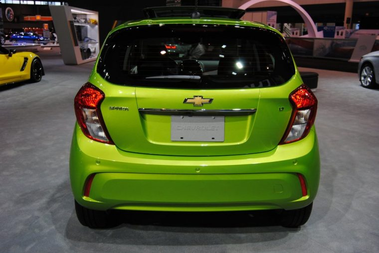 The 2016 Chevy Spark does indeed feature a rear liftgate