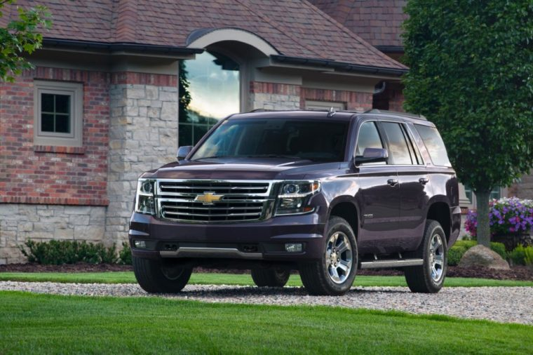 The 2016 Chevrolet Tahoe comes with a 5.3-liter EcoTec3 V8 engine
