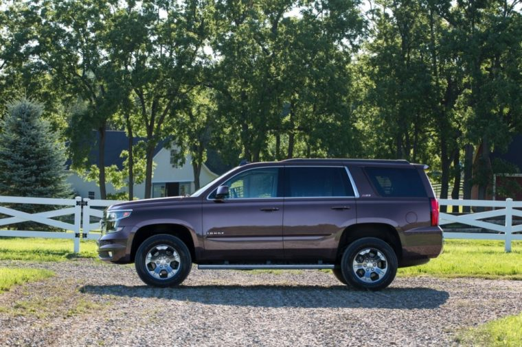 An electrical theft-deterrent system comes standard with the new 2016 Tahoe from Chevrolet