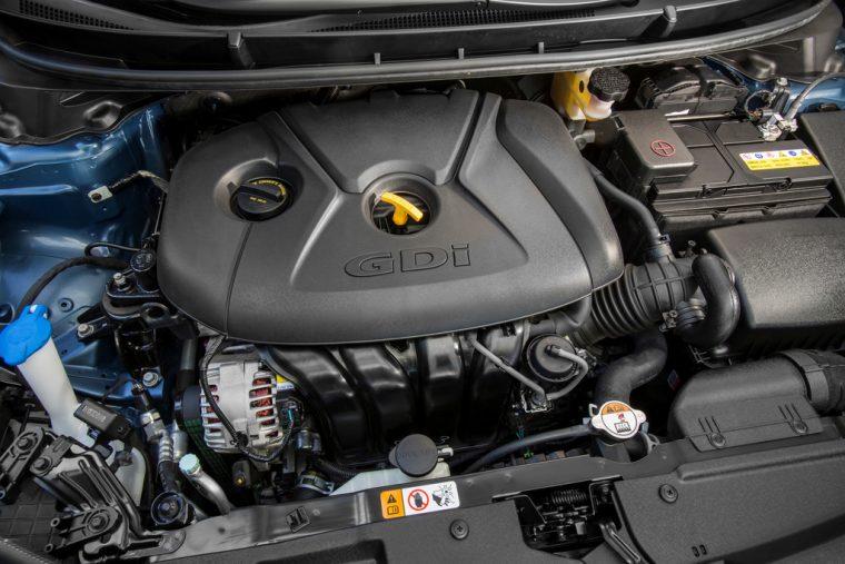 2016 Hyundai Elantra GT Overview engine