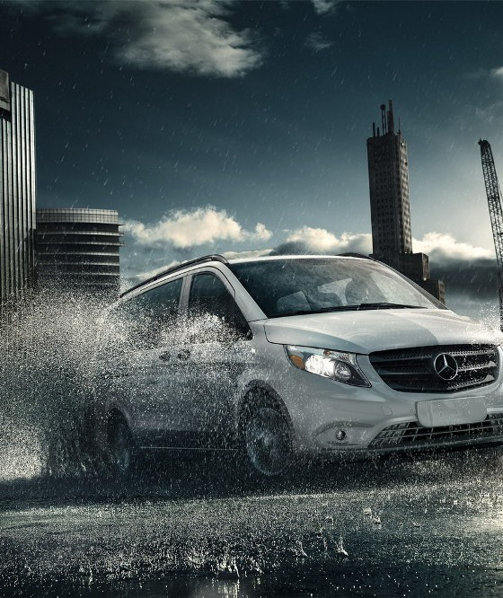 2018 Mercedes Benz Metris Cargo Interior: 2016 Mercedes-Benz Metris Overview