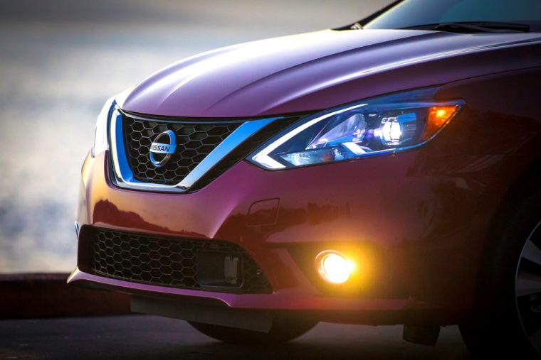 Halogen headlights are one of the 2016 Nissan Sentra's many features